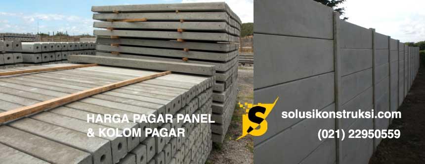 Harga Pagar Panel dan Kolom Pagar