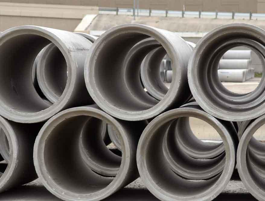 Saluran Gorong-Gorong Dengan Reinforced Concrete Pipe  Konstruksi