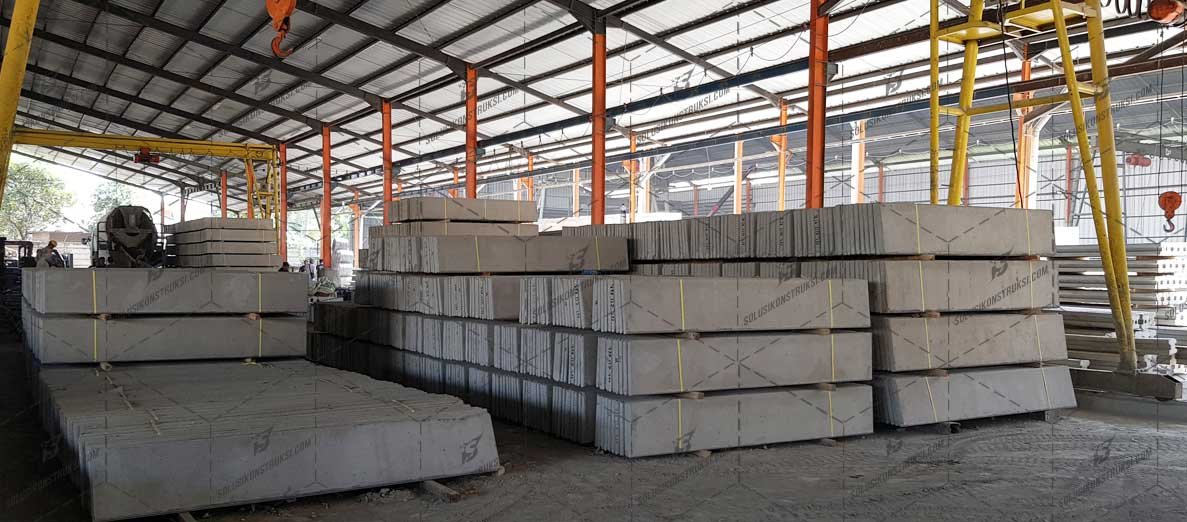 Harga Pagar Panel Beton 2020 Harga Terpasang Tiang Kolom Precast