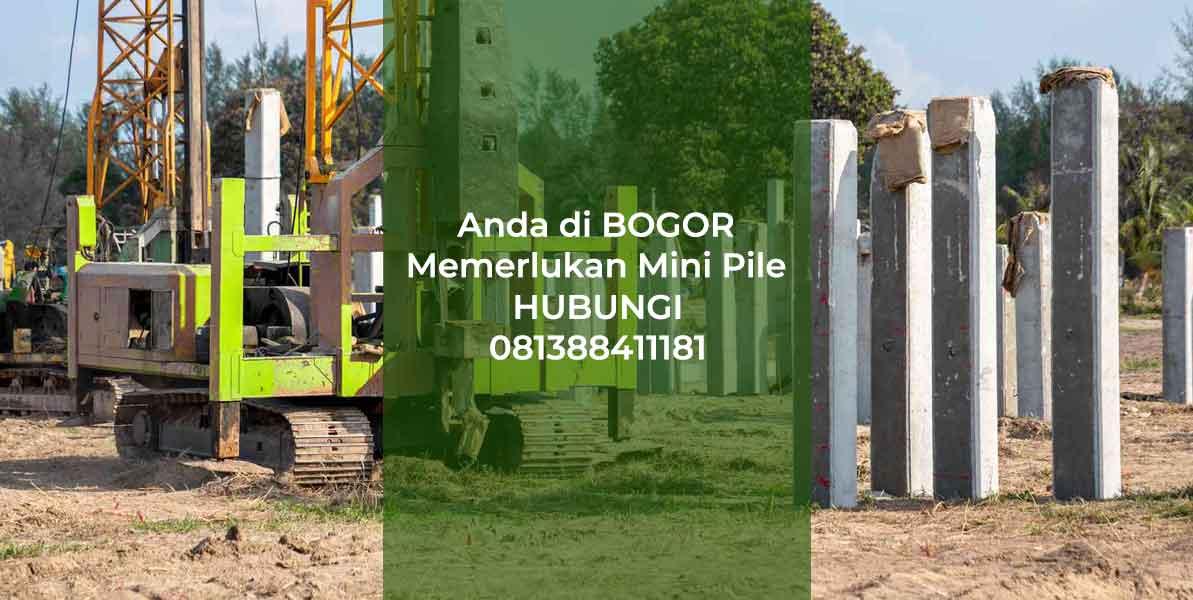 Harga Mini Pile Bogor