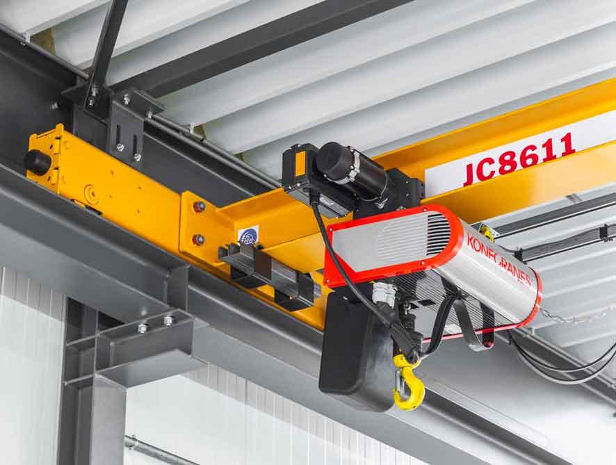 Konstruksi Hoist Crane Komponen dan Sistem Proteksi