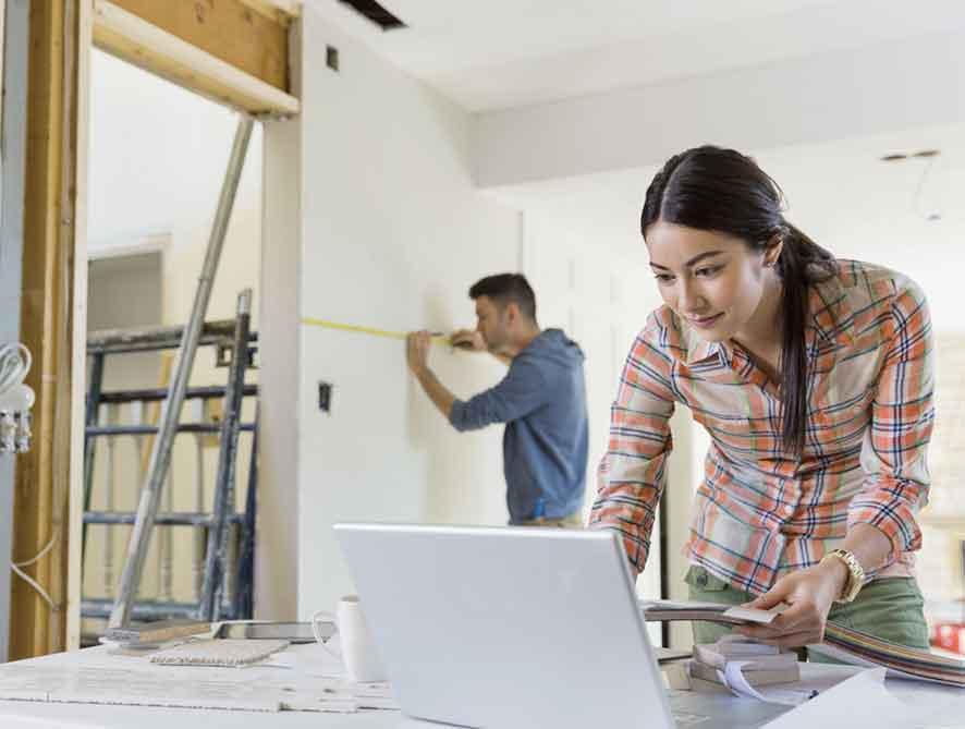 Pekerjaan Renovasi Rumah
